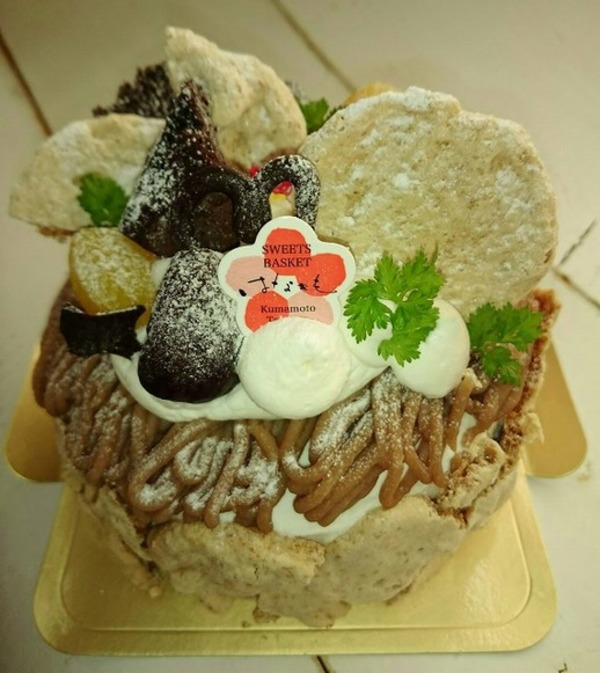 モンブランケーキのサムネイル