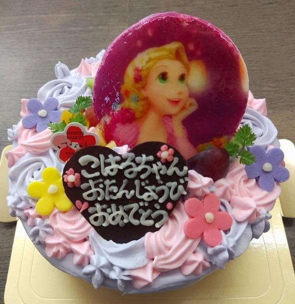 プリンセスのお誕生日ケーキのサムネイル