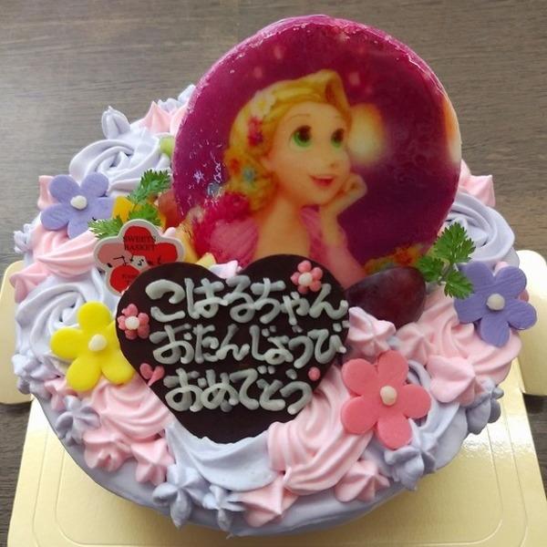 プリンセスのお誕生日ケーキ