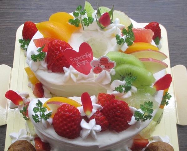 数字ケーキのサムネイル