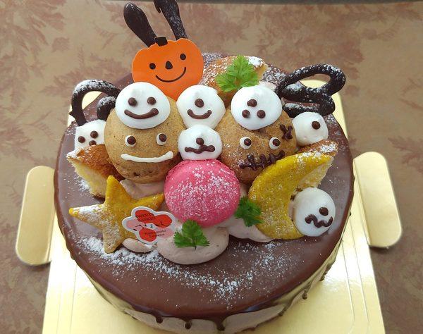 生チョコケーキハロウィンVerのサムネイル