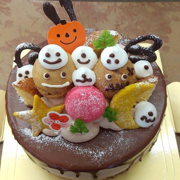 生チョコケーキハロウィンVer